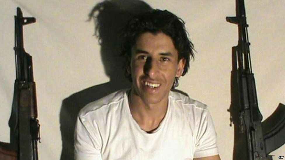 Image of Seifeddine Rezgui distributed by IS-linked social media accounts