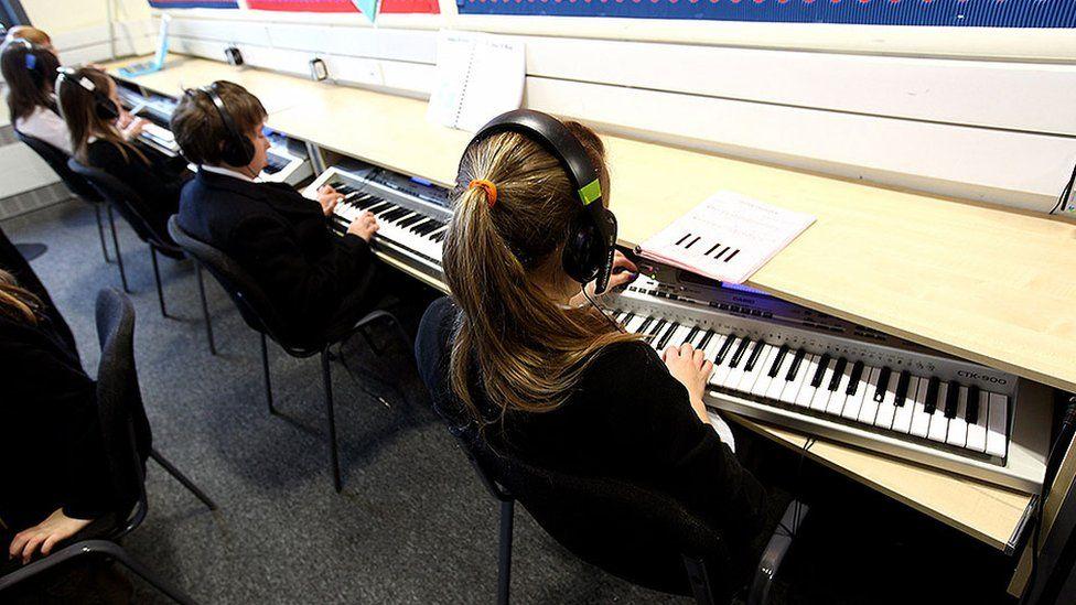 School music lesson