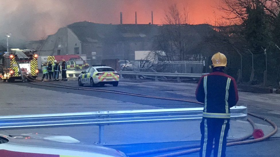 Fire in Tyseley