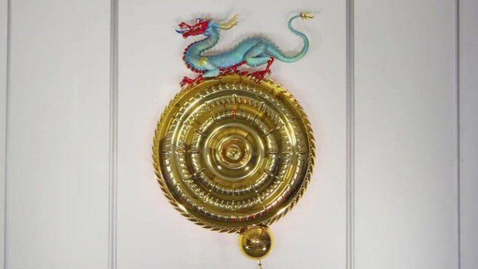 Dragon Chronophage clock