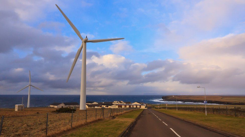 Scottish wind turbines