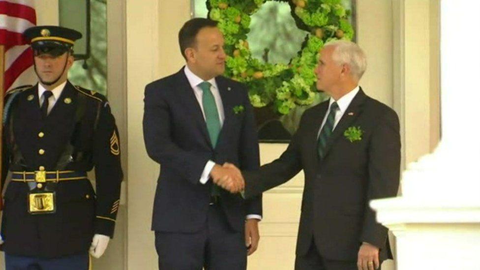 Leo Varadkar and Mike Pence