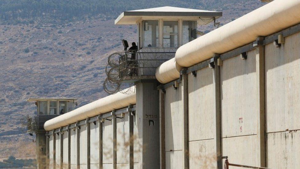 Gilboa Prison, an Israeli maximum security prison