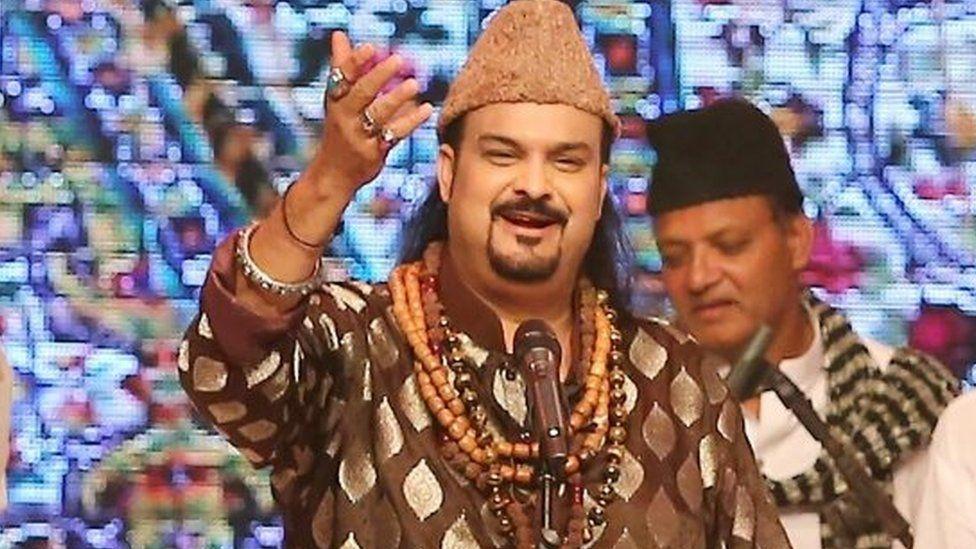 Pakistani Sufi musician Amjad Sabri (Oct 2015)