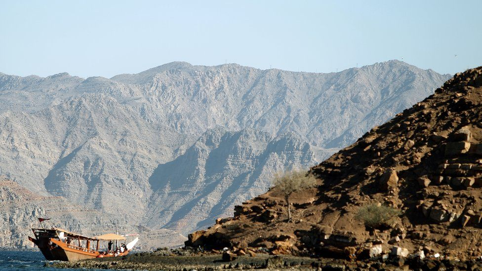 The coast of Oman