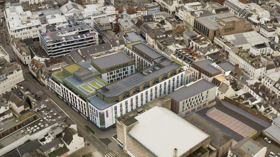 St Helier: Hotel and flats to be built as £70m revamp backed