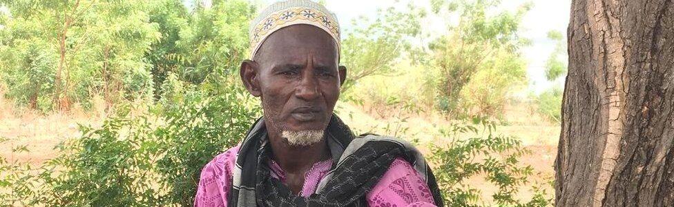 Picture of herder Malam Saleh Fulani