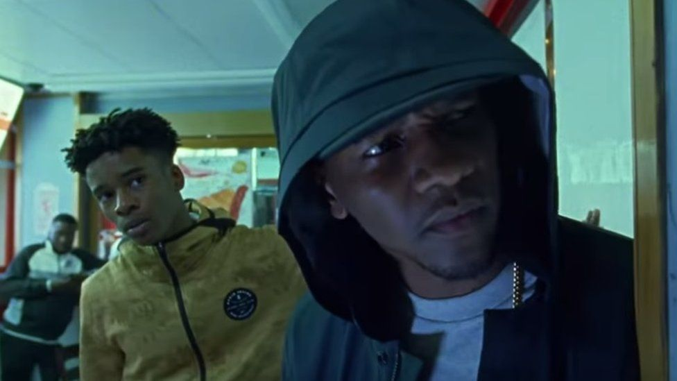 UK rapper Giggs who appears in the Nike advert