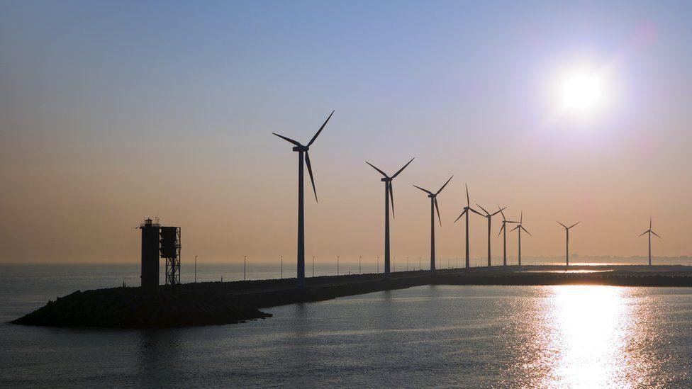Zeebrugge windfarm