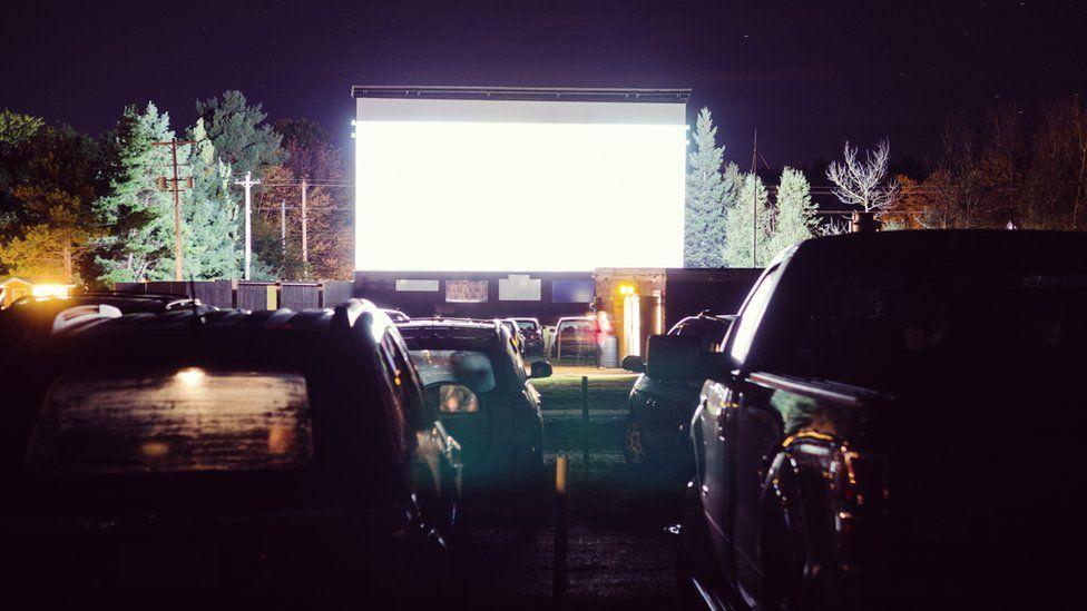 drive-in cinema