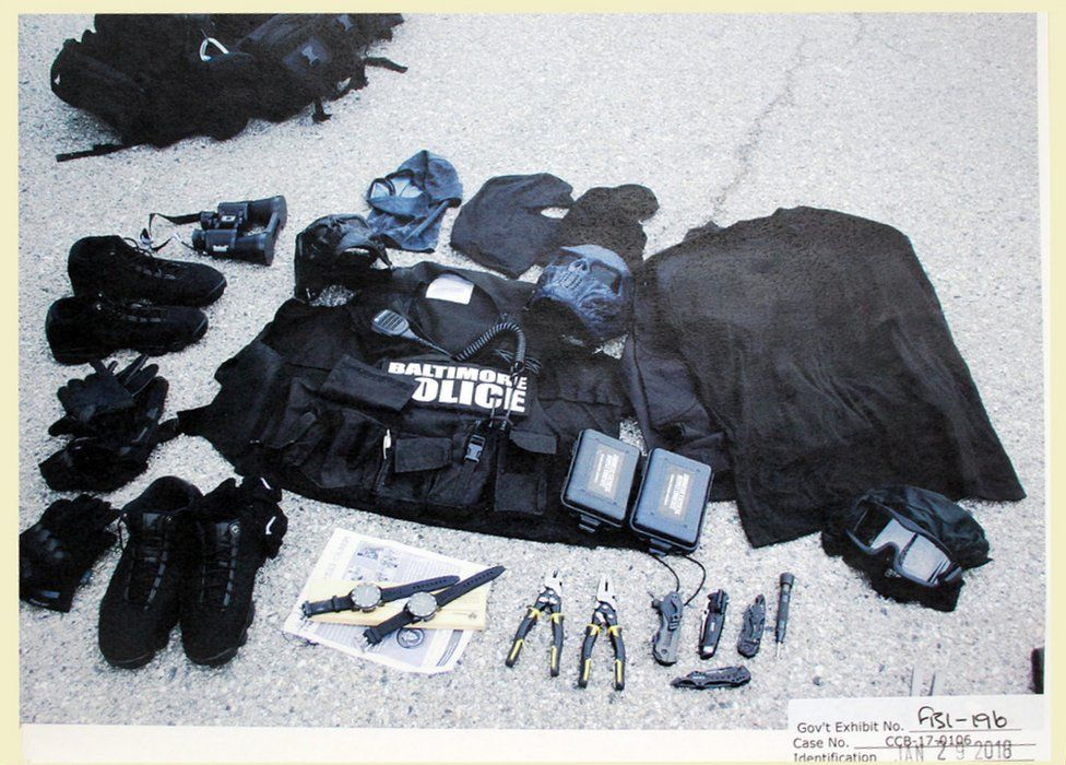 Prosecutors showed evidence of Jenkins' building up the tools needed to do full-fledged robberies