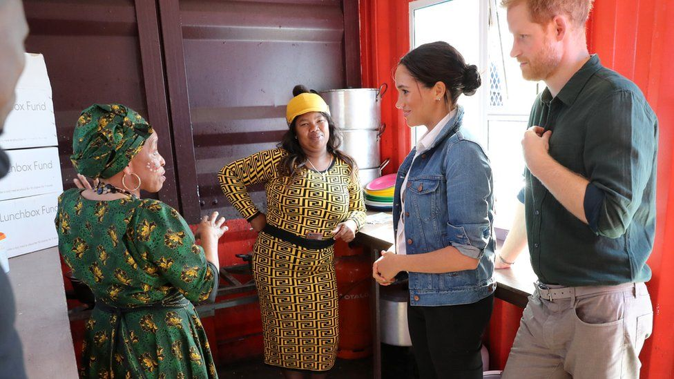 Meghan and Harry visit the Waves for Change