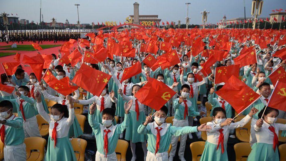 CCP 100: Xi warns China will not be 'oppressed' in anniversary speech - BBC  News