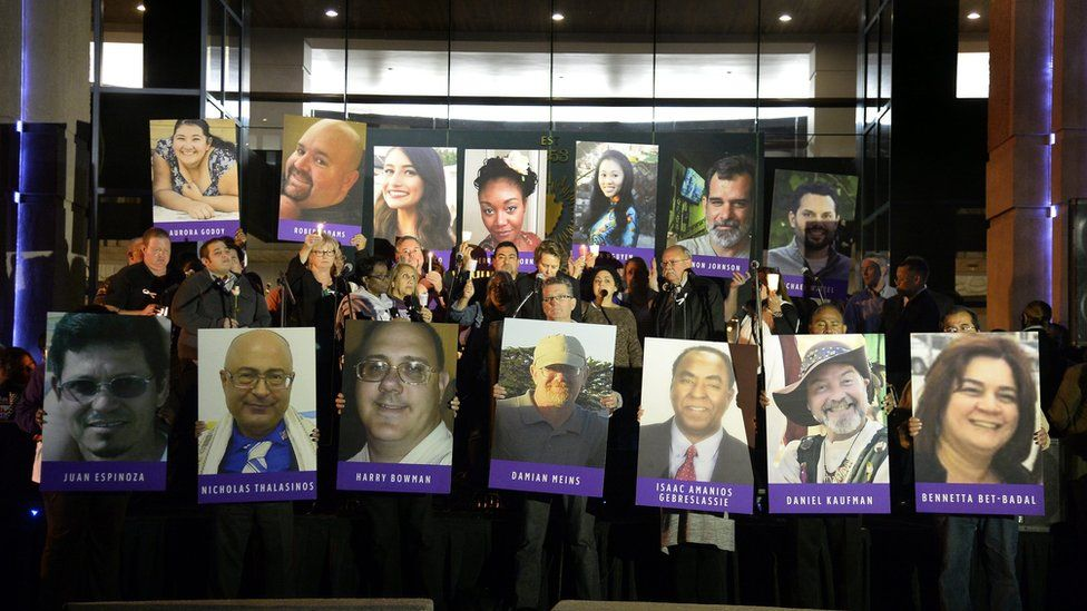The 14 victims of the shooting