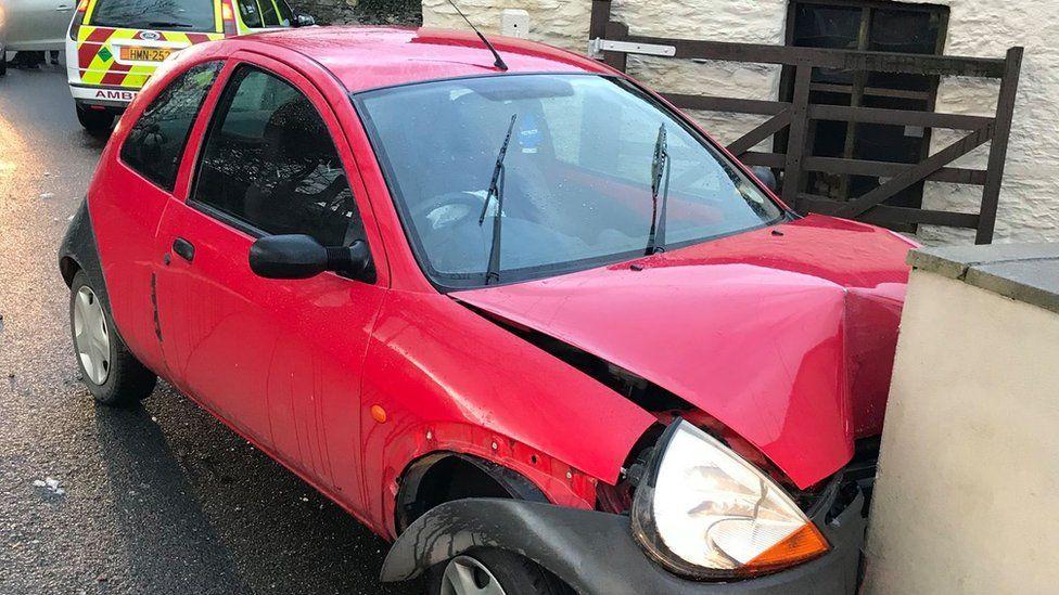Crash in St John's