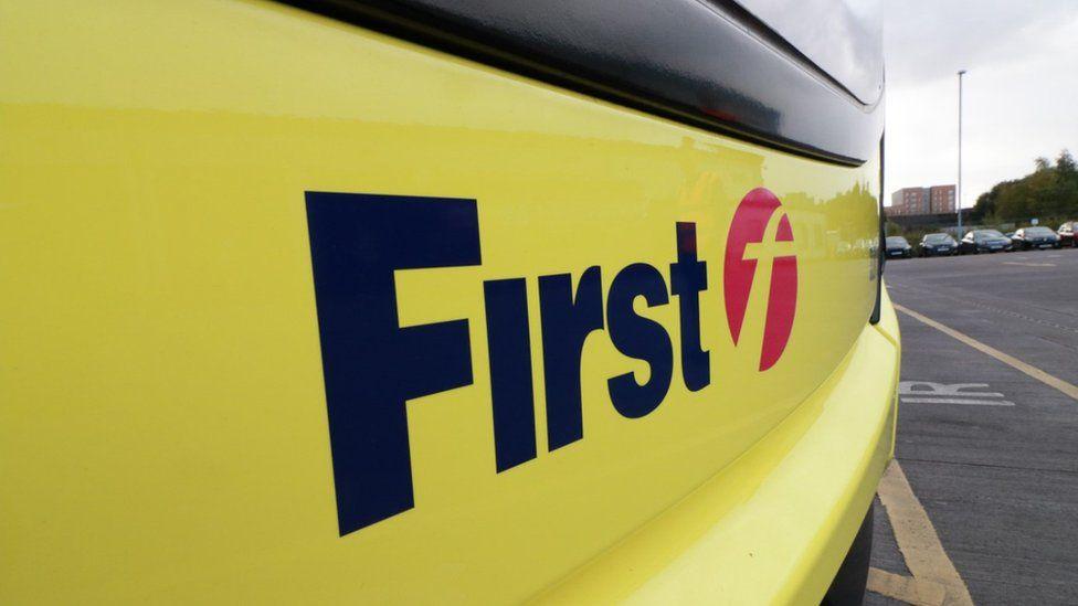 First Glasgow bus