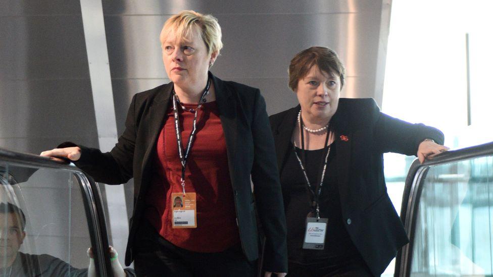 Angela and Maria Eagle