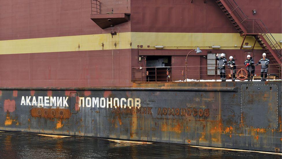 Akademik Lomonosov, 19 May 18
