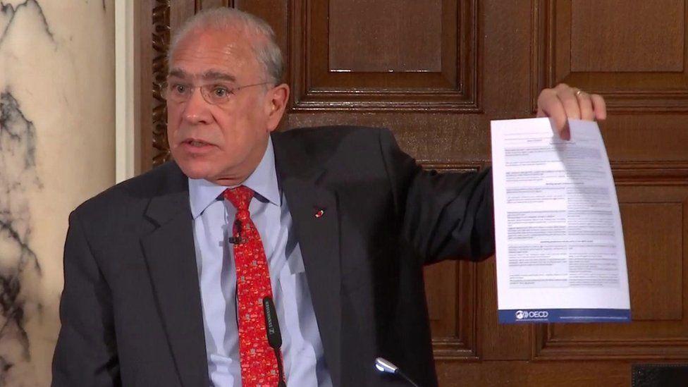Angel Gurria, the OECD secretary general