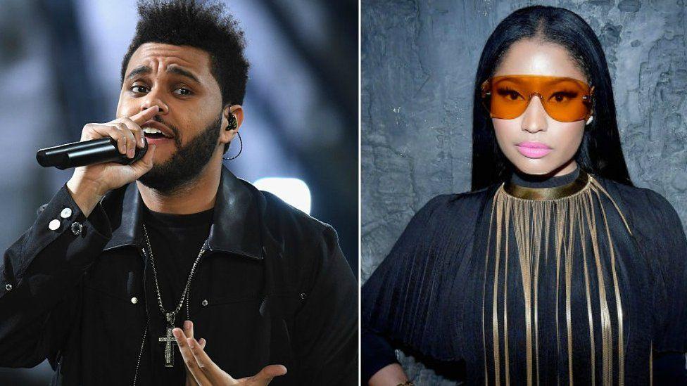 The Weeknd and Nicki Minaj