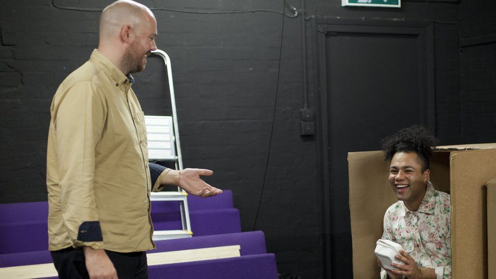 A rehearsal for Burgerz
