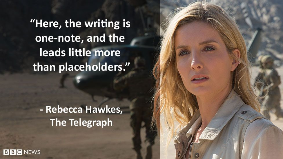 """The Telegraph's review: """"Here, the writing is one-note, and the leads little more than placeholders."""""""