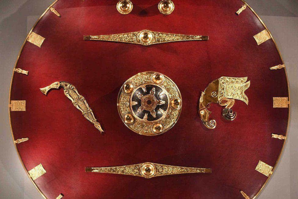 Sutton Hoo shield replica