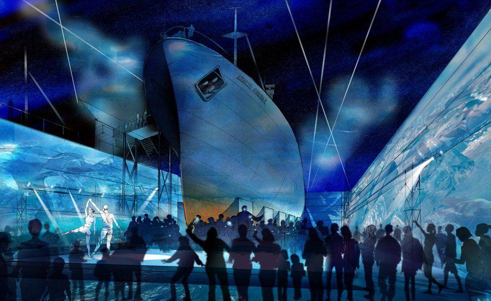 Artist impression of Arctic Corsair attraction