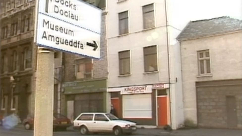 James Street in 1988