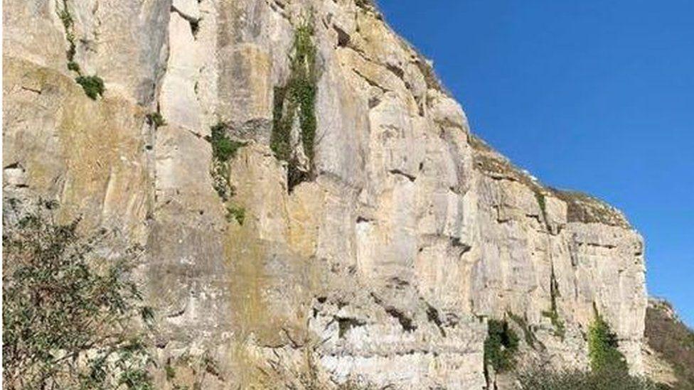 Cliff at Wakeham