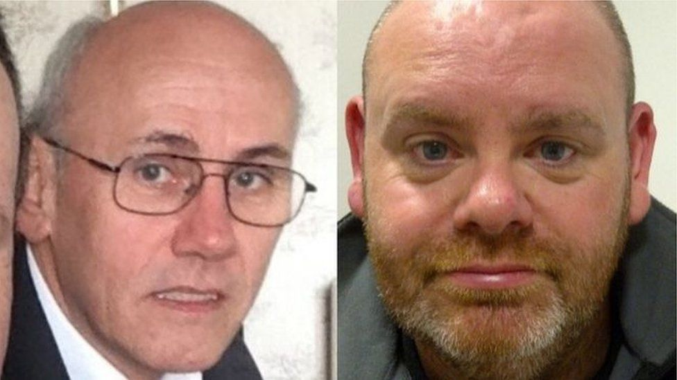 Alec Warburton (left) and David Ellis