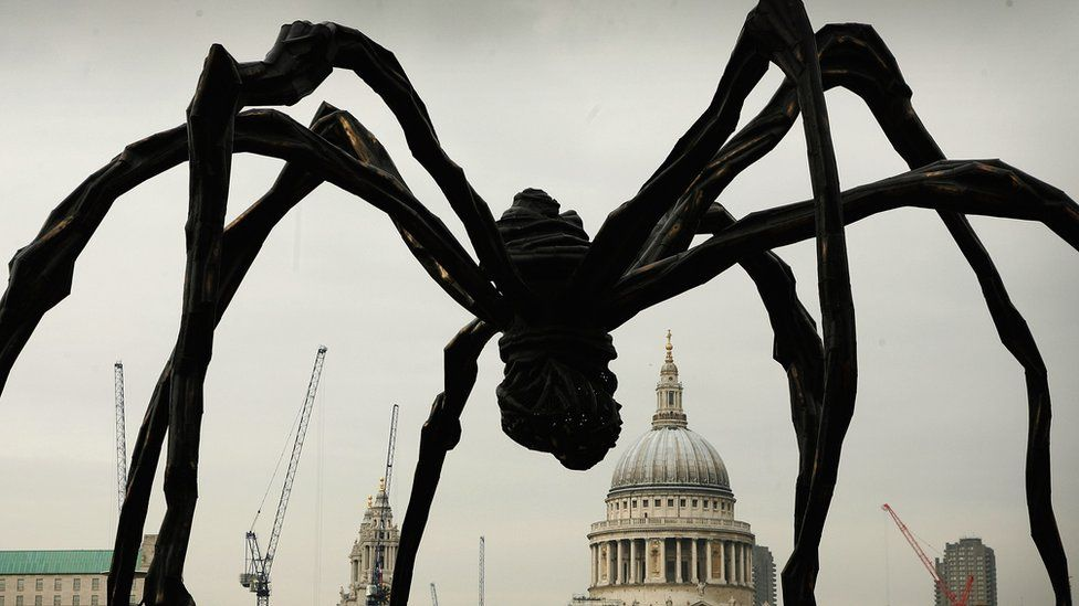 Louise Bourgeois Spider sculpture in London