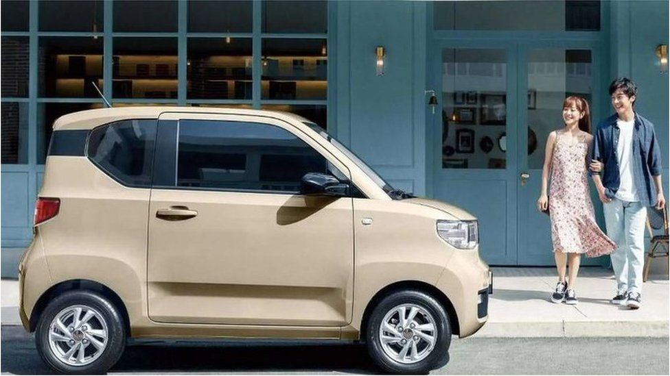 The Wuling Hong Guang Mini EV an electric car that has quickly won over Chinese drivers