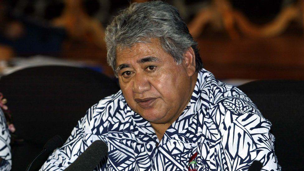 Samoa's PM Tuila'epa Sailele Malielegaoi