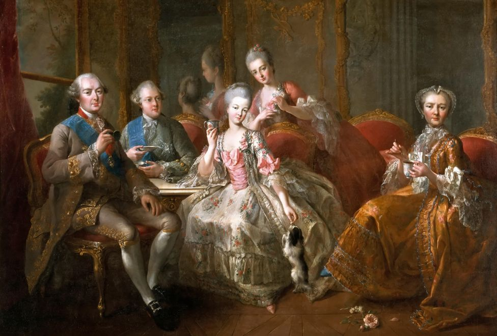 The Duc de Penthievres and family, by Jean-Baptiste Charpentier