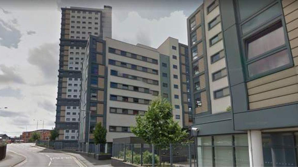 Liberty Heights flats in Wolverhampton