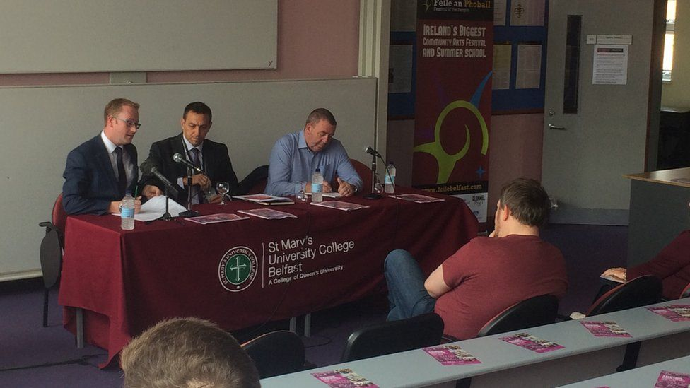 Joe McCrisken was speaking at a Féile an Phobail event in west Belfast on the dangers of prescription medication
