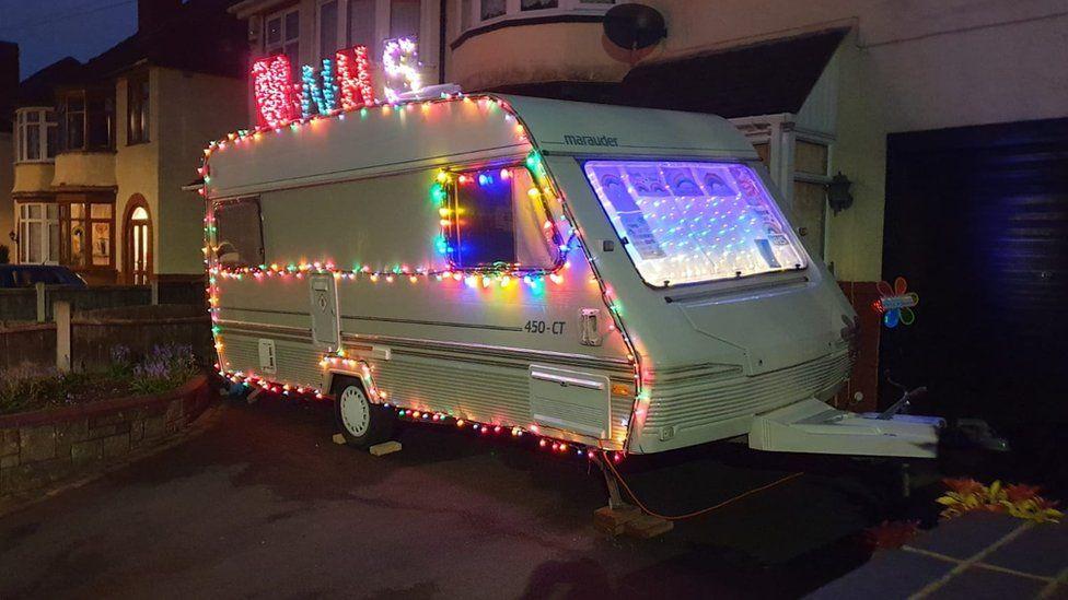 Sarah Link's caravan