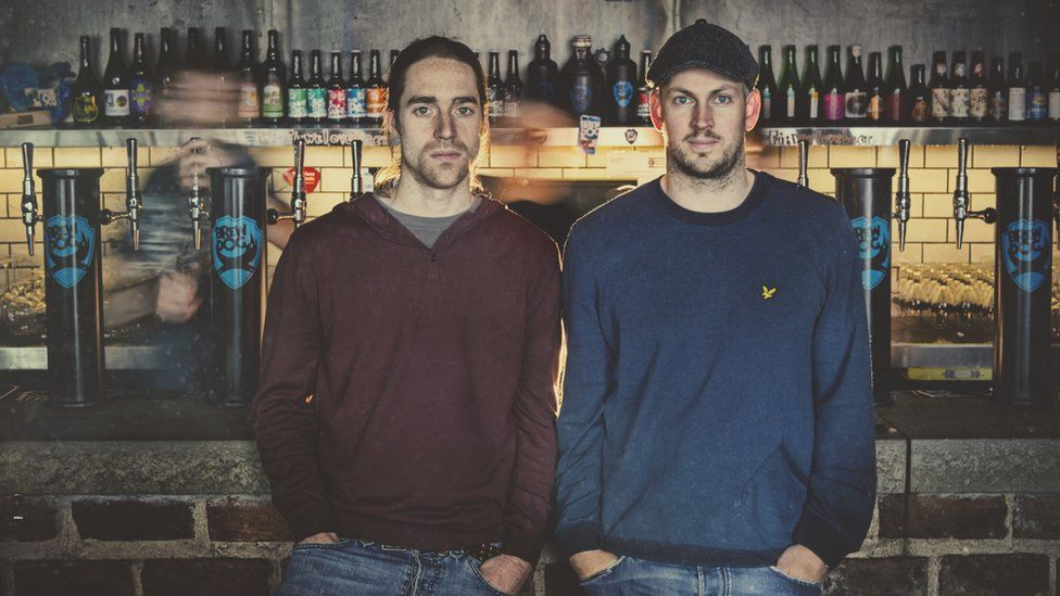 BrewDog founders Martin Dickie and James Watt