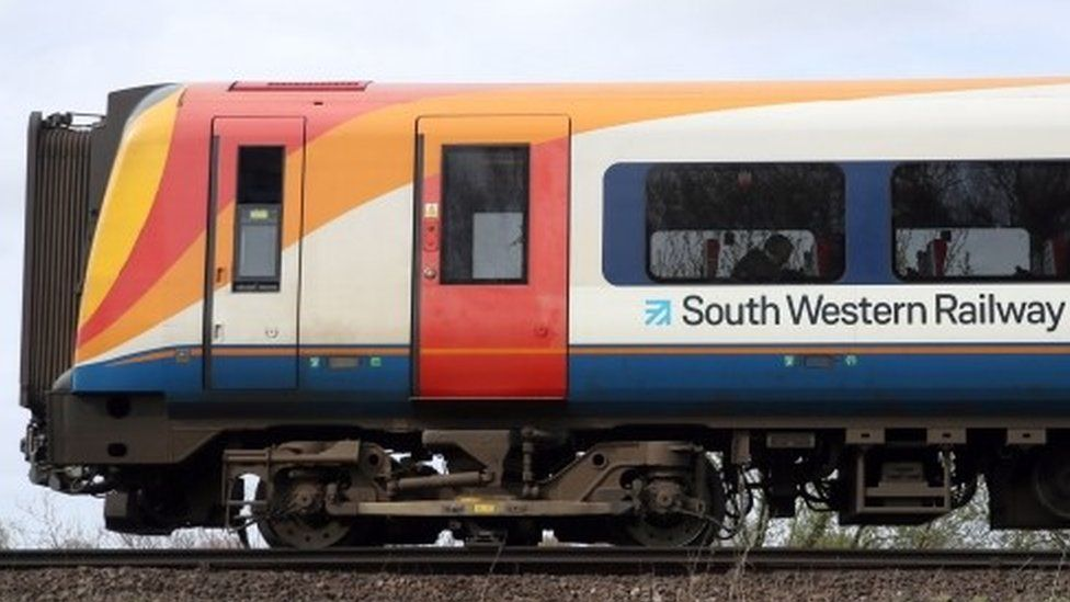 South Western Railway train