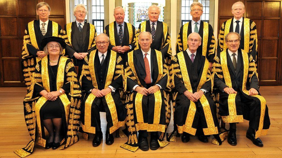 Lords of the UK Supreme Court