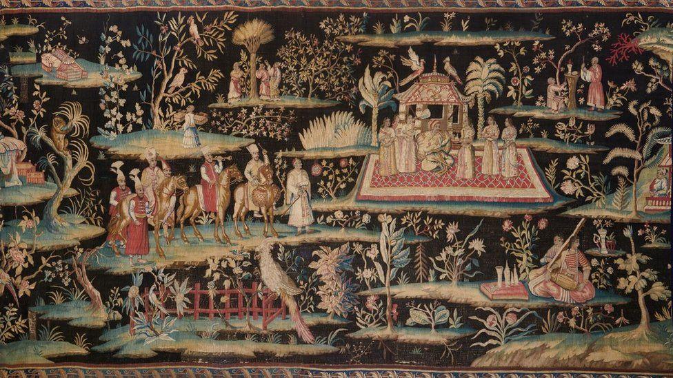 Soho tapestry