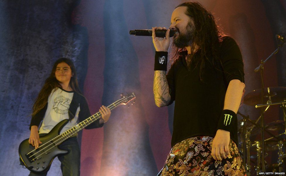 Tye Trujillo and Jonathan Davis