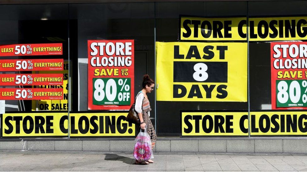 Store closing down