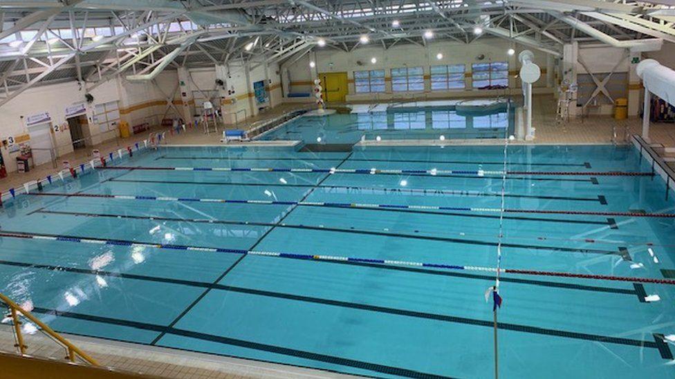 Penlan leisure centre swimming pool