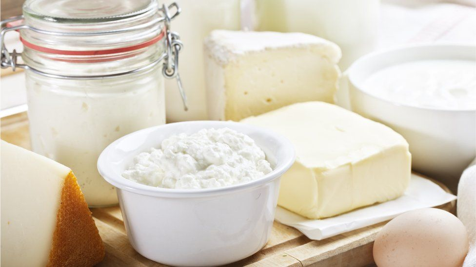 Cheeses are good sources of calcium