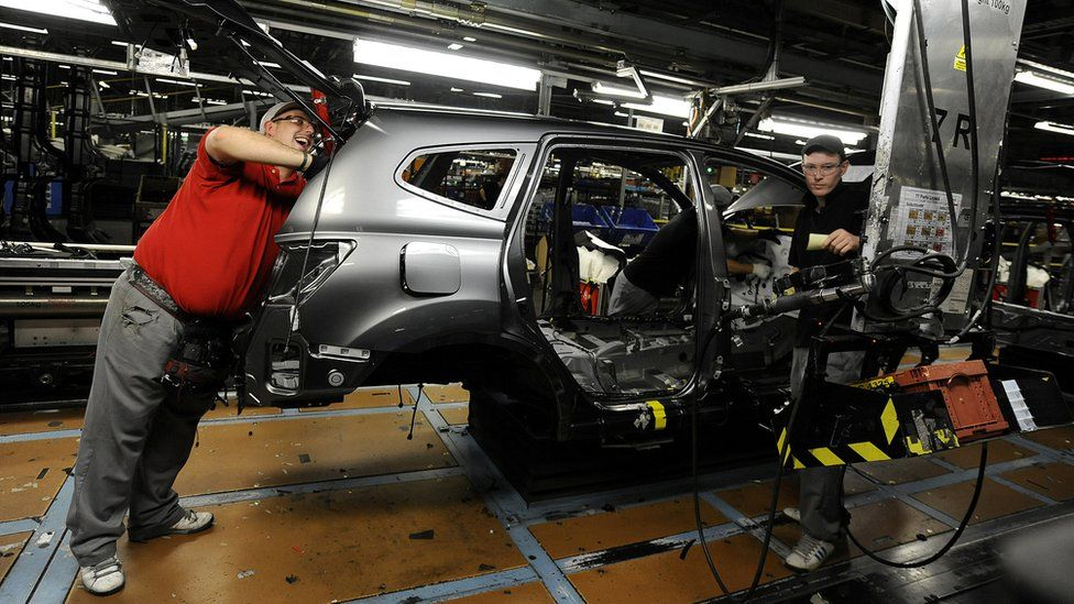 Nissan's plant in Sunderland