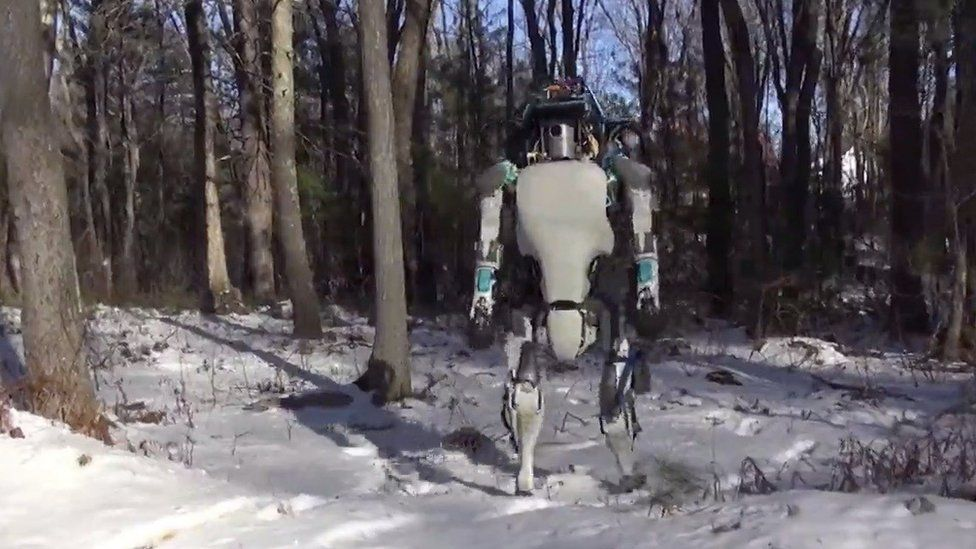 Boston Dynamics snow robot