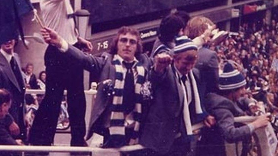 Kevin Beattie after the FA Cup win