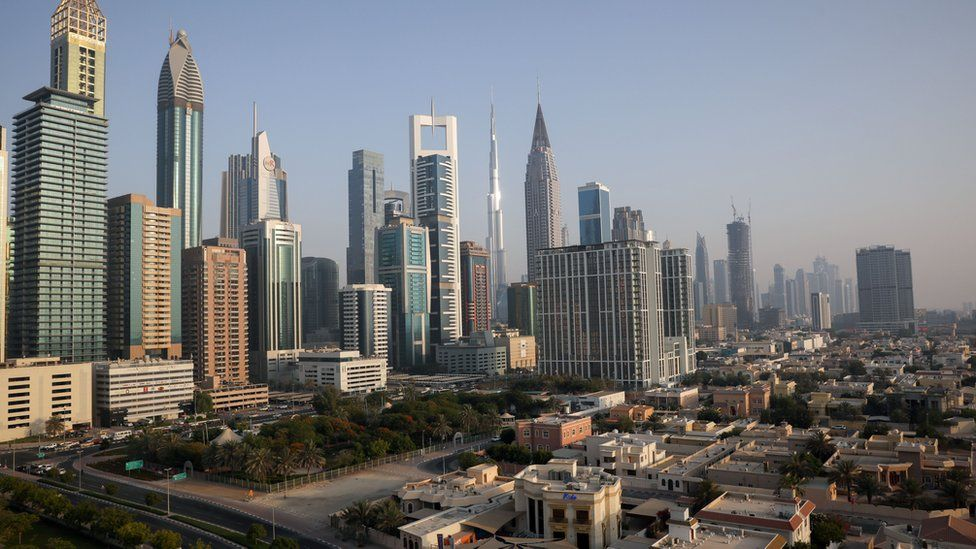 General view of Dubai skyline (12 June 2021)